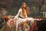 John william waterhouse, the lady of shalott, 1888, 02.jpg