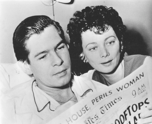 Johnnie Ray - Ray and wife Marilyn Morrison Ray in a photo dated 1954