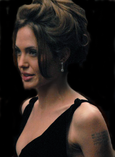 Jolie at the premiere of A Mighty Heart in New York