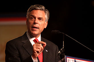 2012 Republican Party presidential primaries - Jon Huntsman, Jr. invested heavily in New Hampshire. After finishing third, he suspended his campaign on January 16.