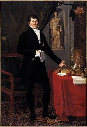 Joseph-François Ducq - Baron Charles-Louis de Keverberg de Kessel, 1818, now in the Groeningemuseum in Bruges