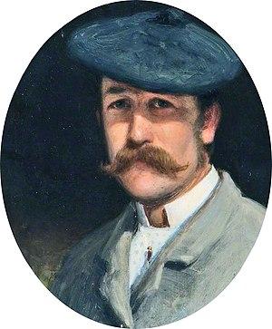 Joseph Farquharson - Self portrait (1882)
