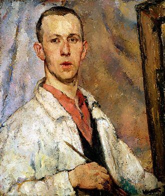 Joseph Kutter - Self portrait