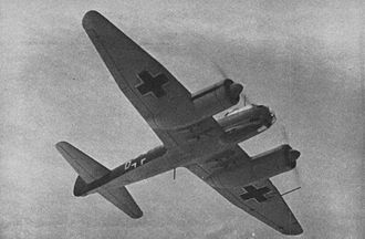 Convoy QP 10 - A Ju 88 similar to the ones that attacked QP 10