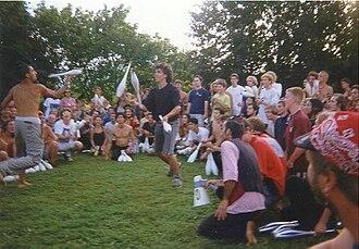 Combat (juggling) - Combat juggling competition