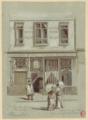 Jules-Adolphe Chauvet A la Petite Chaise 1890.png