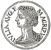 Julia the Elder the Only Daughter of Augustus as She Would Have Appeared on an Ancient Roman Coin