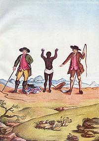 Escravos en Minas Gerais (Brasil), 1770