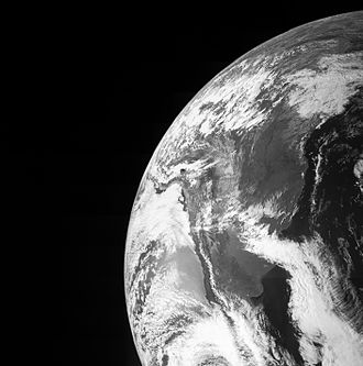 New Frontiers program - Juno views Earth in October 2013 during the spacecraft's flyby en route to Jupiter