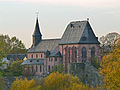 Justinuskirche Höchst south-east view November 2006.jpg