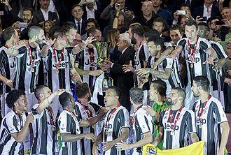 2016–17 Coppa Italia - Image: Juventus Coppa Italia 2017