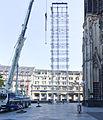 Kölner Dom - Abbau südöstliches Gerüst Nordturm-2948.jpg
