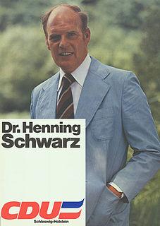 Henning Schwarz politician