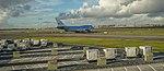 KLM Boeing 747 at Amsterdam airport (39349740714).jpg