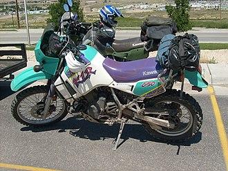 Kawasaki KLR650 - Image: KLR650s