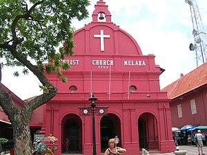 KL Christ Church Melaka - Iglesia Holandesa