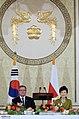 KOCIS Korea President Park Poland State Banquet 01 (10470585053).jpg