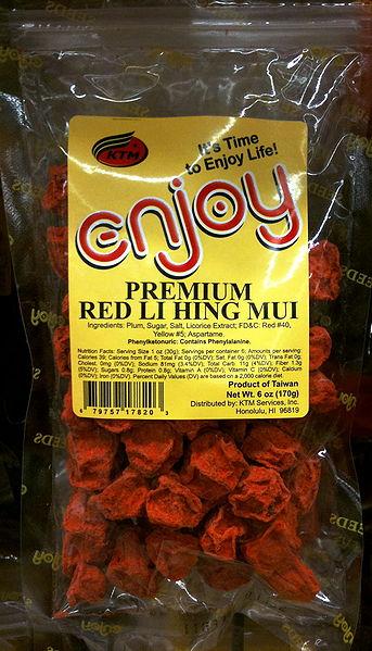 Li Hing Mui - crack seed