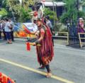 Kabasaran warrior in Tomohon, Minahasa, North Sulawesi, Indonesia.png