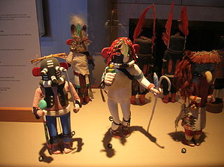 Hopi Kachina figure dolls in the Hopi religious tradition