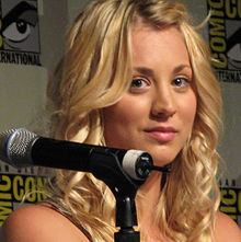 Kaley Cuoco al Comic-Con (2008)