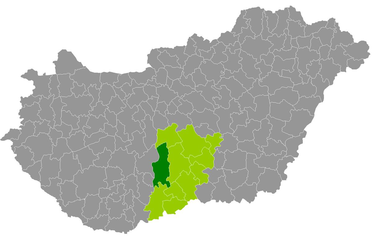 kalocsa térkép Kalocsa District   Wikipedia