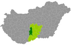 kalocsa térkép Kalocsa District   Wikipedia kalocsa térkép