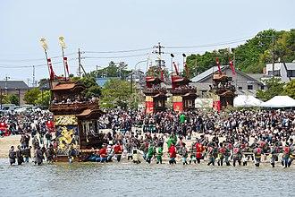 Handa, Aichi - Kamesaki Mud-flats Festival on May