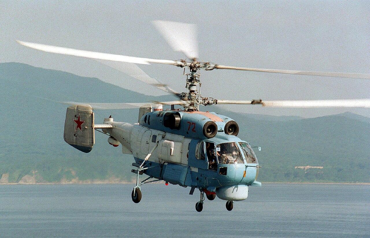 Новости России: Ка-27 легко справились с условным «врагом»