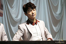 Kang Min-hyuk - Can't Stop fan sign event at the Airforce Club.jpg