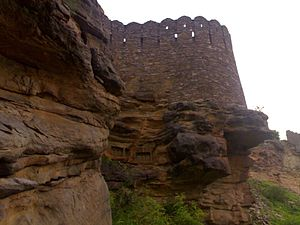 Khandar Fort - Image: Kangure