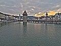 Kapellbrücke mit Bilderzyklus und Wasserturm HDR photo.jpg