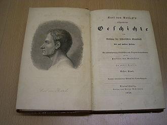 Karl von Rotteck - Karl von Rotteck's Allgemeine Geschichte, title page of the 1848 edition