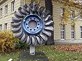 Karlsruhe - Institute of Technology - Laufrad einer Peltonturbine I.jpg