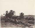 Karnak (Thèbes), Avenue de Sphinx - Vue Générale Prise du Point G MET DP71385.jpg