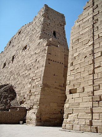 Nectanebo I - First Pylon, Karnak