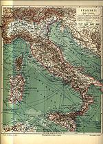 Gammal Karta Italien.Italiens Historia Wikipedia