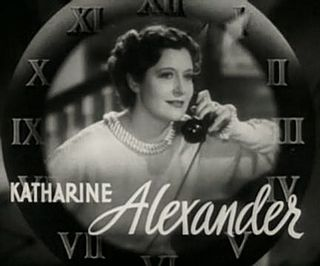 Katharine Alexander American actress
