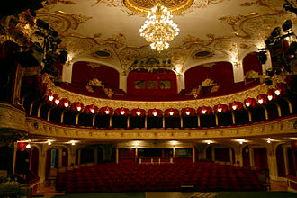 Fellner & Helmer - Katona József Theater auditorium