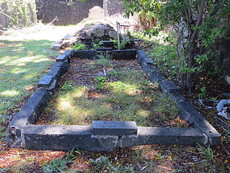 Jonah Kapena - The Kapena family plot in the Kawaiahaʻo Cemetery