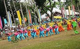 Magdalena, Laguna - lKawayan Festival dance competition