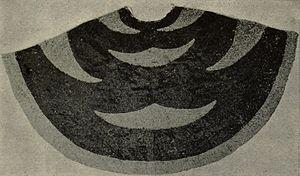 Lawrence Kearny - Hawaiian feather cloak presented to Kearny by King Kamehameha III during his visit.