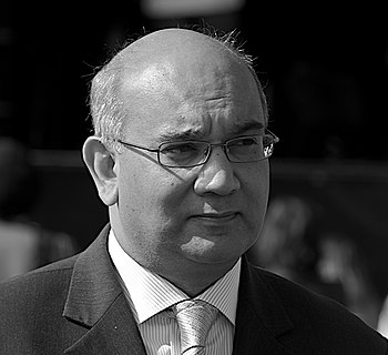 English: Keith Vaz, British Labour politician,...