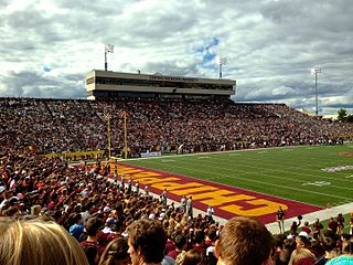 Kelly/Shorts Stadium home venue of the Central Michigan Chippewas football team