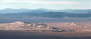 Kelso Dunes - Kelso Dunes at Mojave National Preserve, California