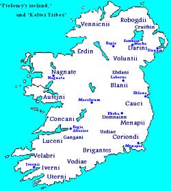 Liste des peuples celtes d'Irlande — Wikipédia