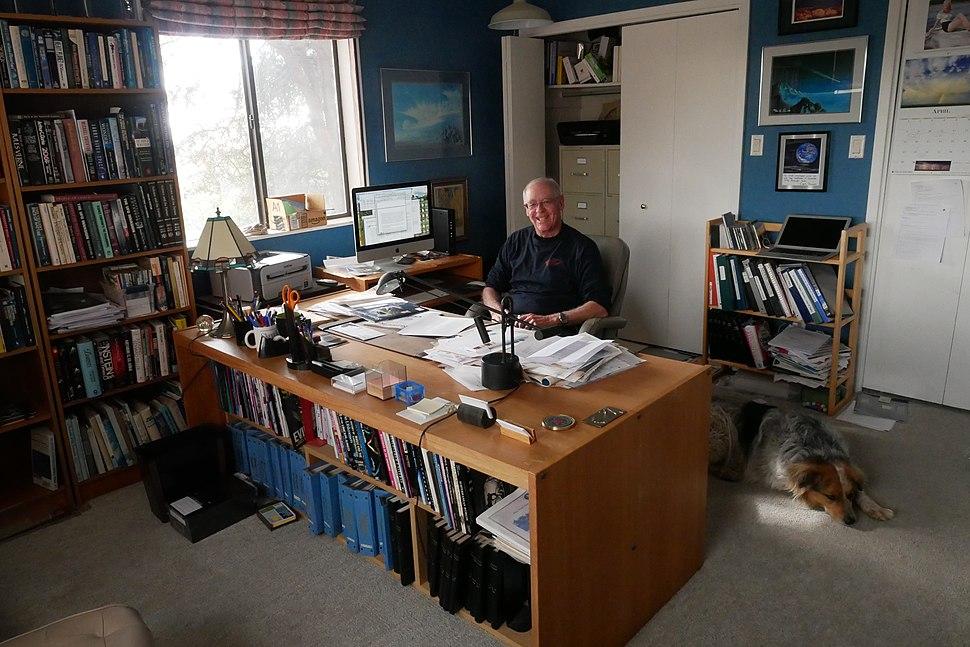 Ken Frazier in office 2018 (1)