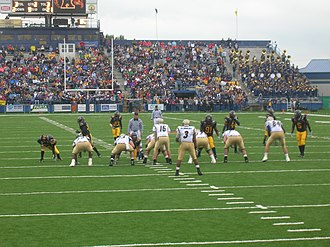 Kent State Golden Flashes - September 26, 2006 football game against the Akron Zips at Dix Stadium.