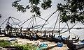 Kerala - Kochi Fishing Nets (15970077955).jpg