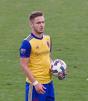 Kevin Doyle - Doyle playing with Colorado Rapids in 2017